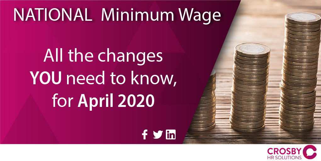 National Minimum Wage Changes April 2020 – All You Need To Know